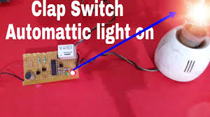 Light Switch Science Project How To Make Clap Switch In Tamil Science Project