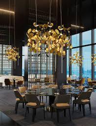 lighting in restaurants. Exclusive-lighting-chandeliers-restaurants -lightingdesigner-williambrand-brandvanegmond-front- Lighting In Restaurants