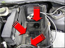 diy mazda 3 2 3 gt turbine input speed sensor replacement step 9 i couldn t remove the entire battery tray due to elaborate wiring attached to the box therefore i tied a sophisticated high tech string to the