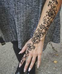 4x черная хна паста татуировки индийский временные поддельные татуировки