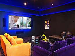 Basement Home Theater Lighting Basement Home Theater Designing Tips And Ideas
