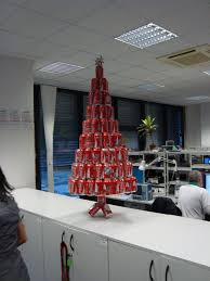 office tree. A Soda Can Christmas Tree: The Tree In Office