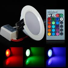 Rgb Led Panel Light 2019 Round Shape High Power Epistar 5w 10w Rgb Led Panel Light With Remote Control Downlight Led Ceiling Down Ac85 265v Driver From Digitalfamily