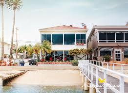 exterior from dock location newport beach community balboa