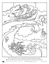 Apostle Paul Coloring Page Coloring Pages About Acts Free Apostle