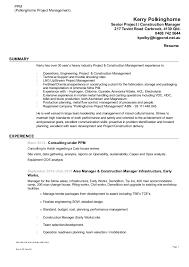 Resume - Kerry Polkinghorne