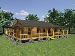 small house plans with wrap around porch very attractive 7 1000 cabin plans with wrap around