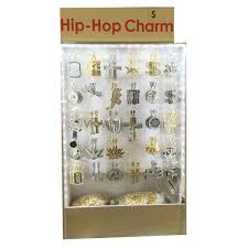 hip hop necklace set display whole