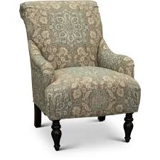Blue Patterned Chair Simple Classic English Cream And Blue Floral Accent Chair Gotham RC