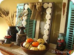 Fall Decorating Rustic Natural Elements Ode To Inspiration