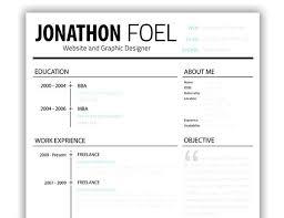 Web Resume Template – Publishedauthors.org