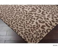 medium size of breathtaking hand tufted jungle animal print wool area rug 76 x 96