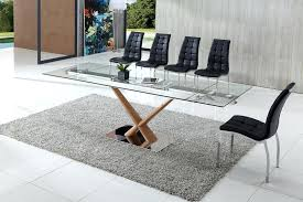 expandable glass dining table fascinating extendable glass table furniture modern glass top extendable dining table