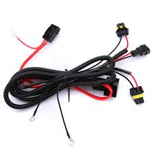 hot car xenon for hid conversion light relay wiring harness hot car xenon for hid conversion light relay wiring harness kit h1 h3 h7 h8 h9 h11 9006 9005 dc12v 40a in car light source from automobiles