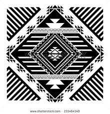 navajo designs patterns. Navajo - Aztec Big Pattern Vector Illustration Designs Patterns G