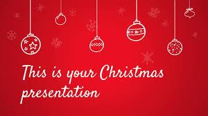 Christmas Program Theme Free Christmas Powerpoint Templates And Google Slides Themes