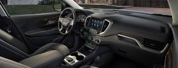 2018 gmc denali terrain. delighful denali interior view of the luxury trim inside terrain denali suv with 2018 gmc denali terrain