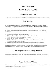 5 Comprehensive Strategic Business Plan Template Business