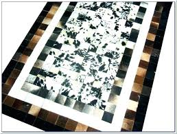 cowhide area rugs extra large