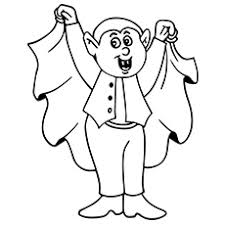 Small Picture Stunning Halloween Coloring Pages Dracula 20 mosatt