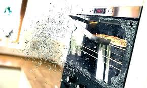 oven door glass shattered replace oven door glass oven glass replacement door sears ovens shattered repairs