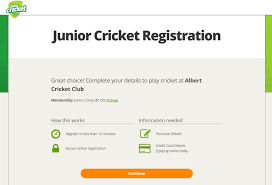 how to setup online registrations payments mycricket support once set up online registration and payments will be available to participants and parents via playcricket com au or you can create a link directly