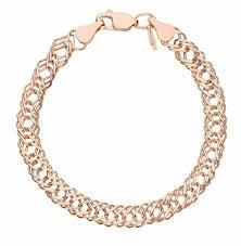 Женские золотые <b>браслеты</b> — купить недорого в интернет ...