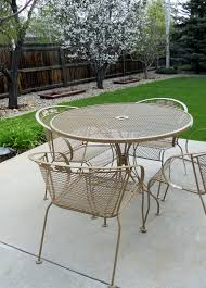 white iron patio furniture. Simple Patio Refurbishing Wrought Iron Furniture Inside White Patio Furniture I
