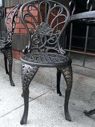 painting wrought iron furniture. How To Paint Wrought Iron Furniture Great Refinish Antique . Painting