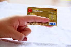 Check spelling or type a new query. Salvador Bahia Brazil November 10 2013 Woman Hand Holding Bradesco Visa Credit Card Indivstock