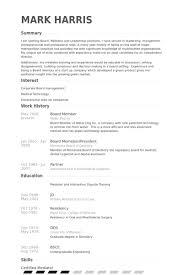 resume boards board resume board letters board of directors cv