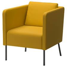 EKER armchair, Skiftebo yellow Width: 27 1/2