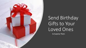 how does e merce work to send birthday gifts to india