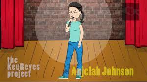 angela johnson nail salon animated cartoon funny