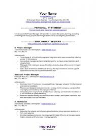 Resume Templates Monster] - 80 images - 10 electrician resume .
