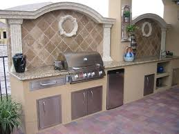 More Custom Outdoor Kitchen Built In Bbq Grill Island Images Ideas Diy