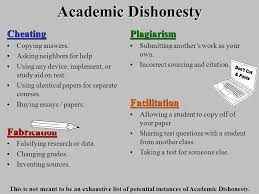 academic dishonesty avoid making a terrible mistake ppt  5 academic dishonesty