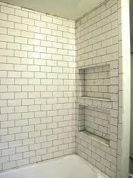 bathroom tile niche ideas subway tile shower niche shower stall shelf inserts subway tile shower niche