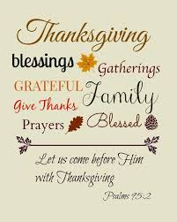 Blessed Quotes From The Bible New Happy Thanksgiving Quotes For Family Friends Happy Thanksgiving