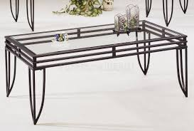 coffee table popular black metal coffee table ideas end tables with glass and black metal