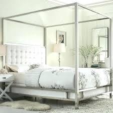 Metal Canopy Bed Frame Modern – mysolarhome.info