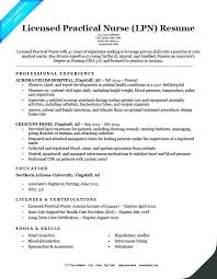 Objective For Lpn Resumes Sample Lpn Resume Objective Yuriewalter Me