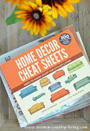 Small Picture Home Decor Cheat Sheets and Giveaway Town Country Living