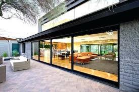 retractable glass wall sliding glass wall cost sliding glass walls residential cost sliding glass door wall