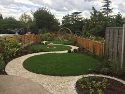 Small Picture Beautiful Garden Design Circular Lawns Semi Shady With Two