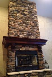 faux wood fireplace mantels stone surround kit styrofoam mantel architecture veneer redo surrounds how to install