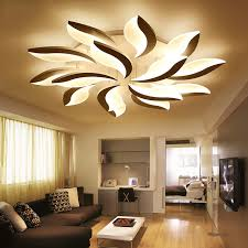 creative home lighting. modern led ceiling lights for study bedroom indoor home lighting creative flower shape lamp