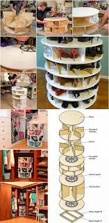 the previous lazy susan presented was taller and meant to be built where it appeared to be in the wall this lazy susan idea is a stand alone option