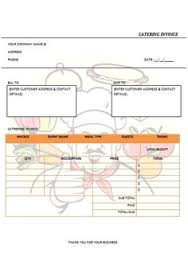 30 Best Catering Invoice Templates Images On Pinterest | Free ...