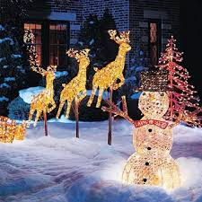 Outdoor Christmas Decorations | Christmas Airblown Inflatables - American  Sale